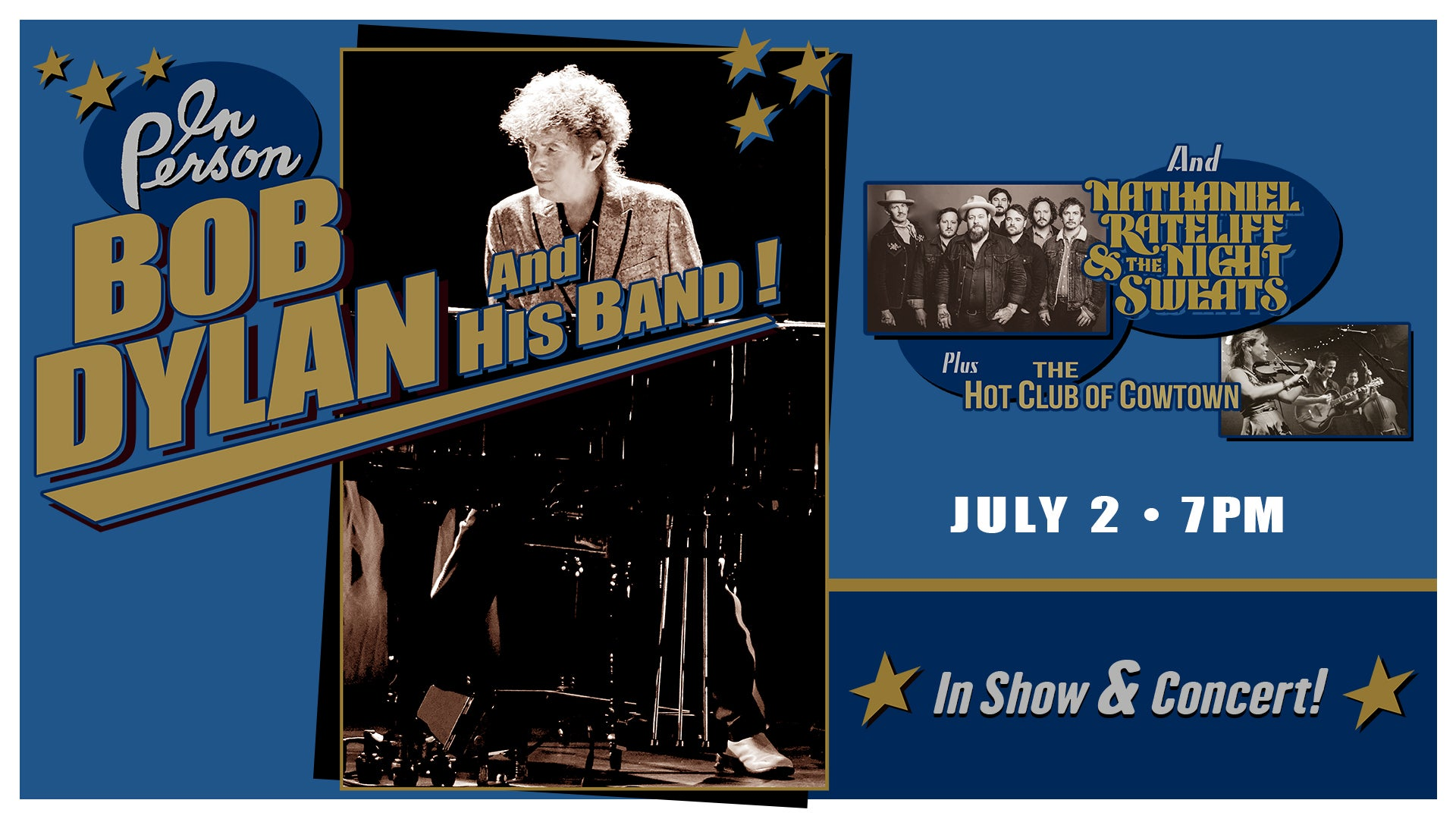 More Info for CANCELED: Bob Dylan and His Band