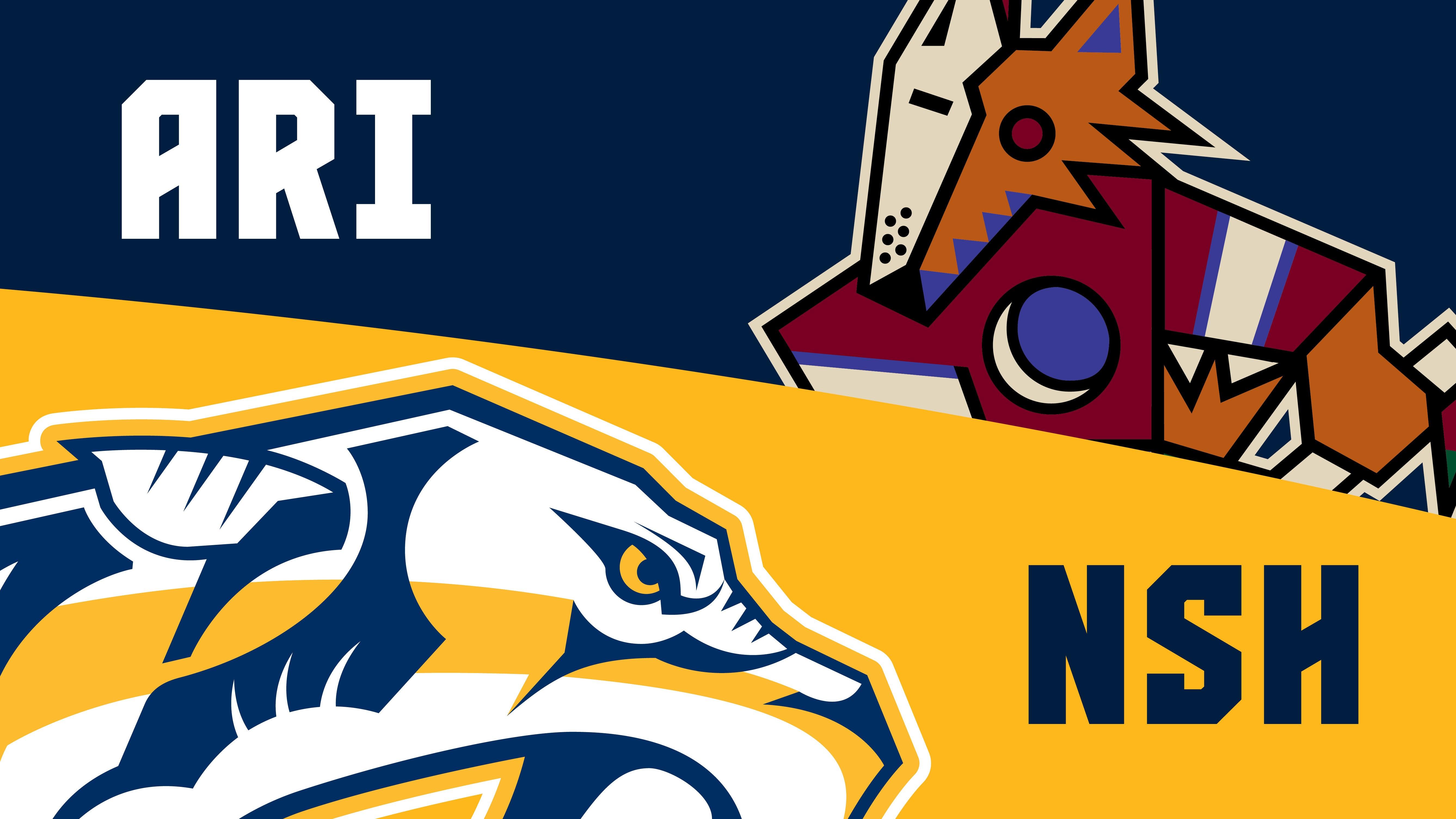 More Info for Nashville Predators vs. Arizona Coyotes