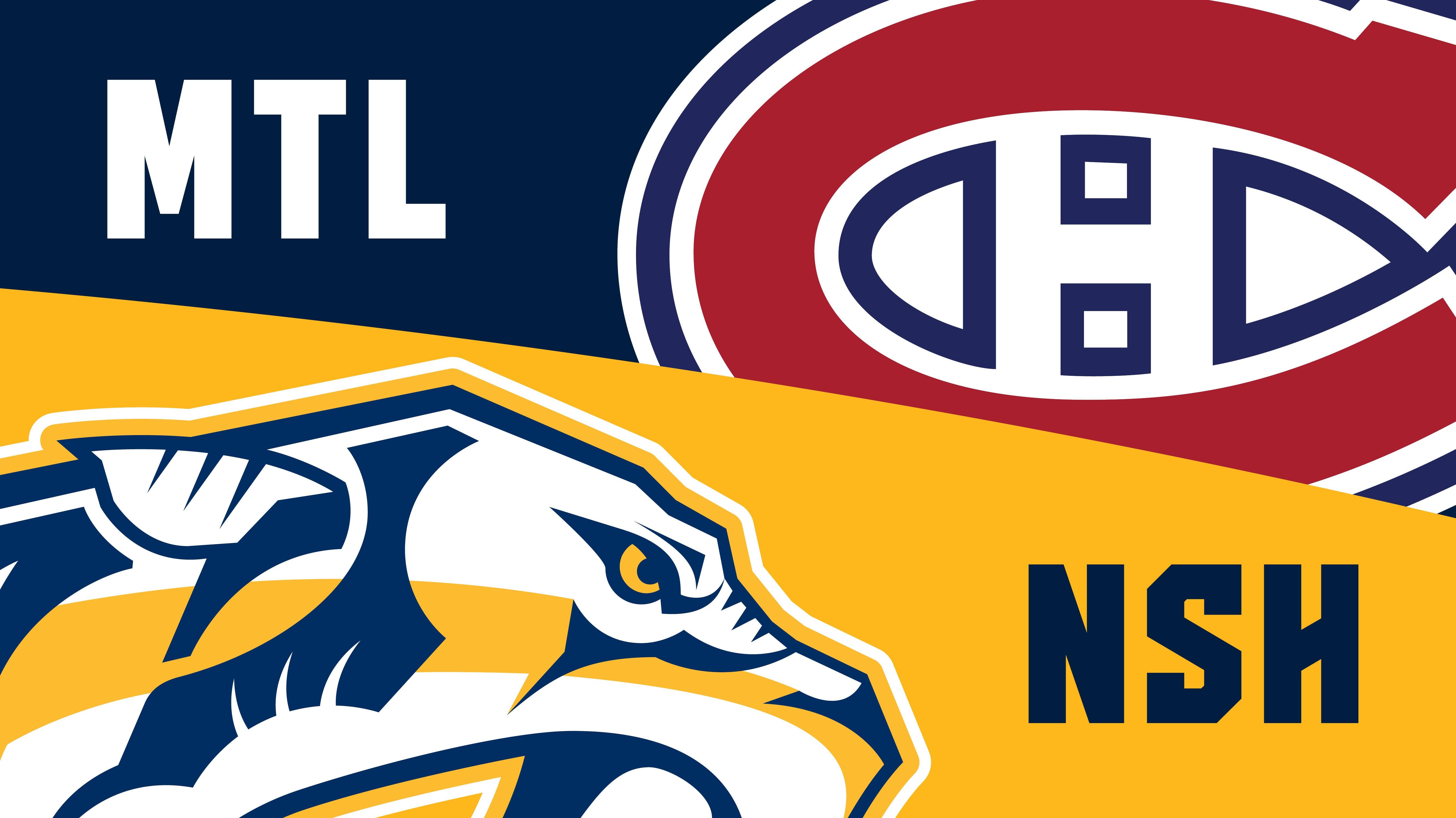 More Info for Nashville Predators vs. Montreal Canadiens