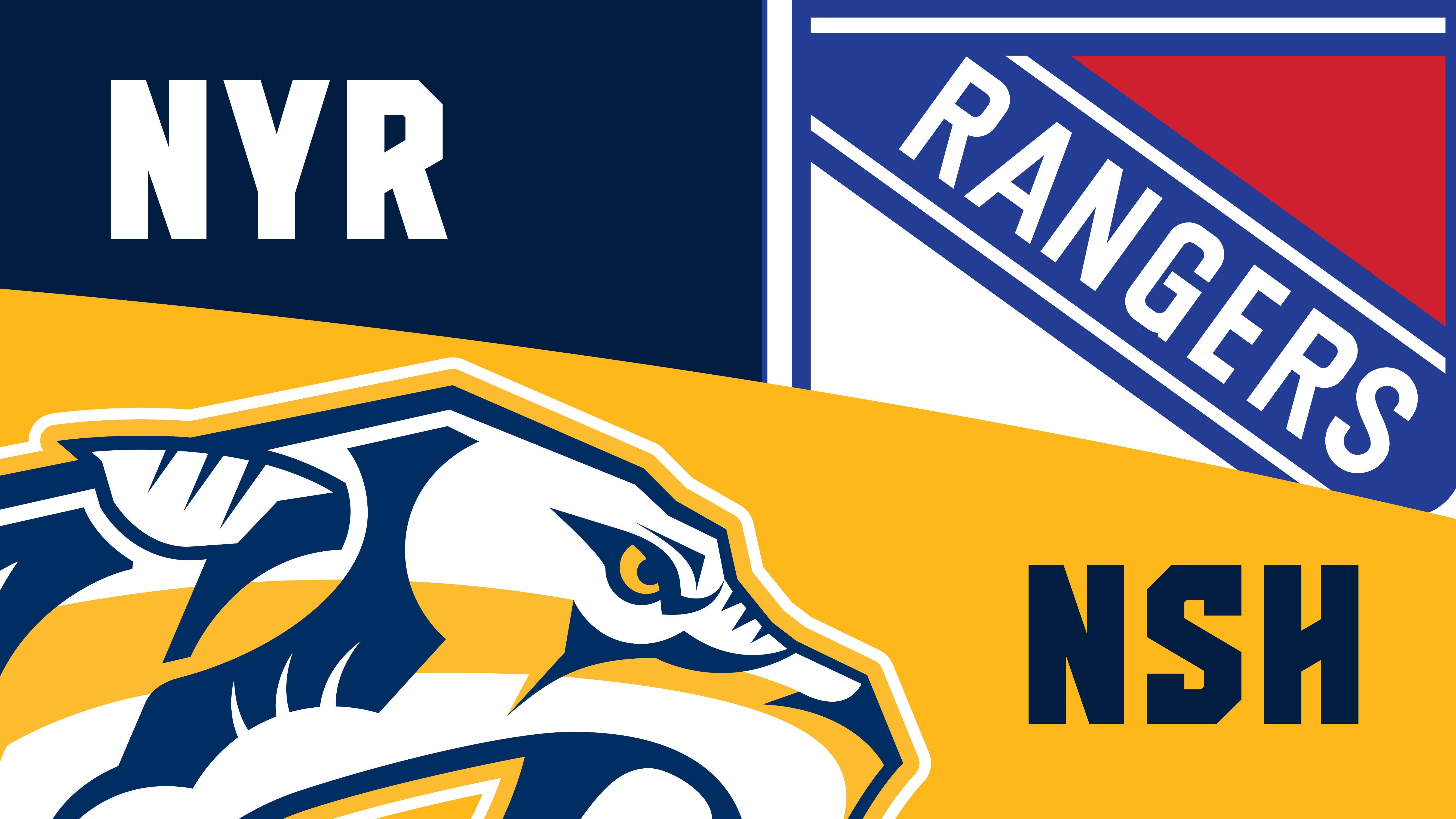 More Info for Nashville Predators vs. New York Rangers