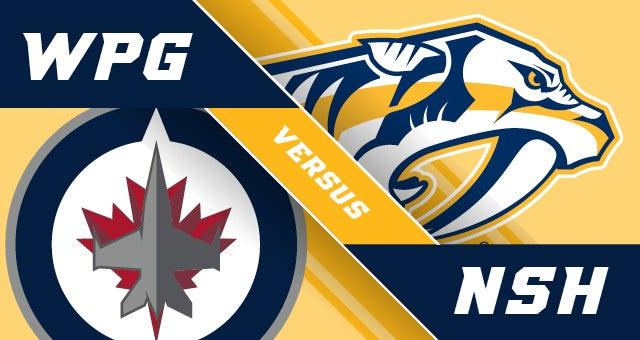 """Résultat de recherche d'images pour """"Nashville Predators vs Winnipeg Jets"""""""