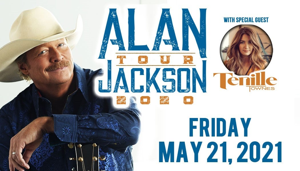 More Info for RESCHEDULED: Alan Jackson