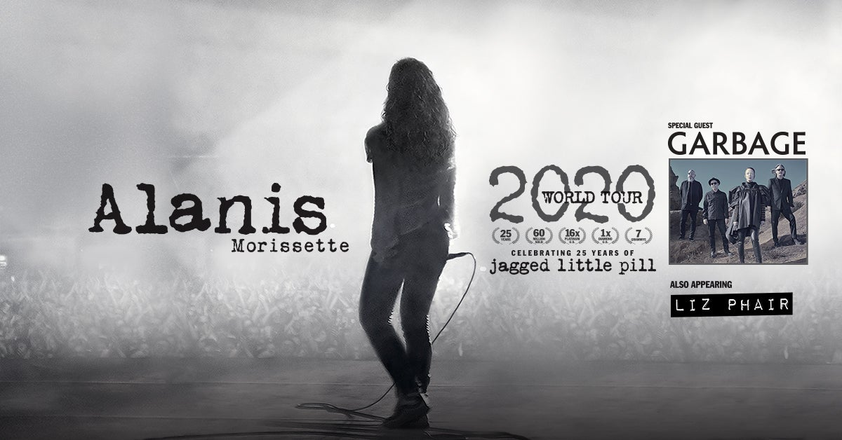 More Info for RESCHEDULED: Alanis Morissette