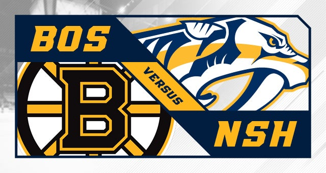 More Info for Nashville Predators vs. Boston Bruins