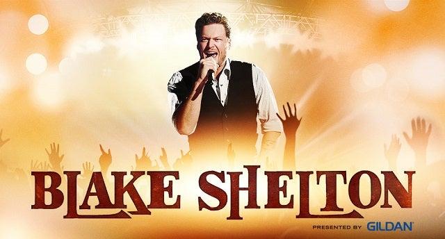 Blake Shelton Bridgestone Arena