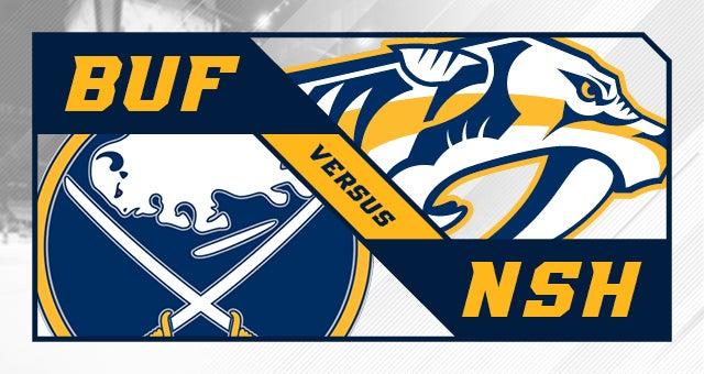 Nashville Predators vs. Buffalo Sabres