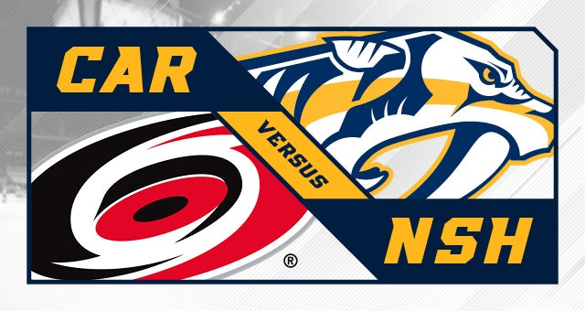 More Info for Nashville Predators vs. Carolina Hurricanes