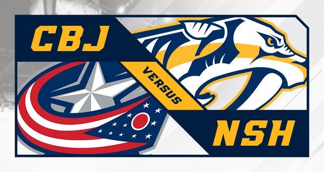 More Info for Nashville Predators vs. Columbus Blue Jackets