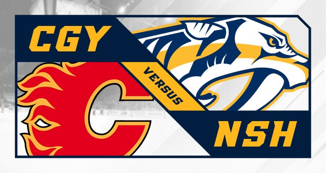 More Info for Nashville Predators vs. Calgary Flames