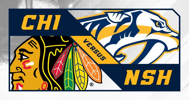 More Info for Nashville Predators vs. Chicago Blackhawks