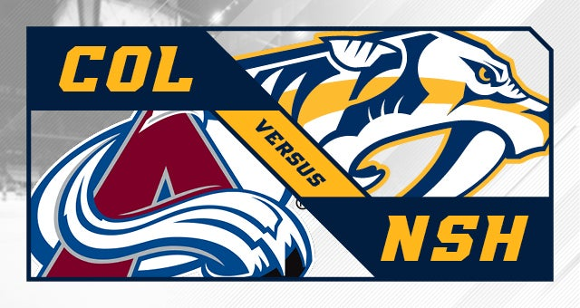 More Info for Nashville Predators vs. Colorado Avalanche