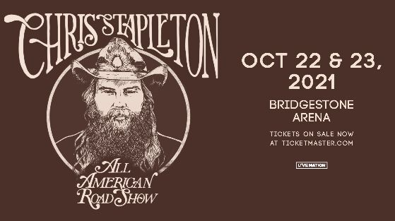 More Info for RESCHEDULED: Chris Stapleton