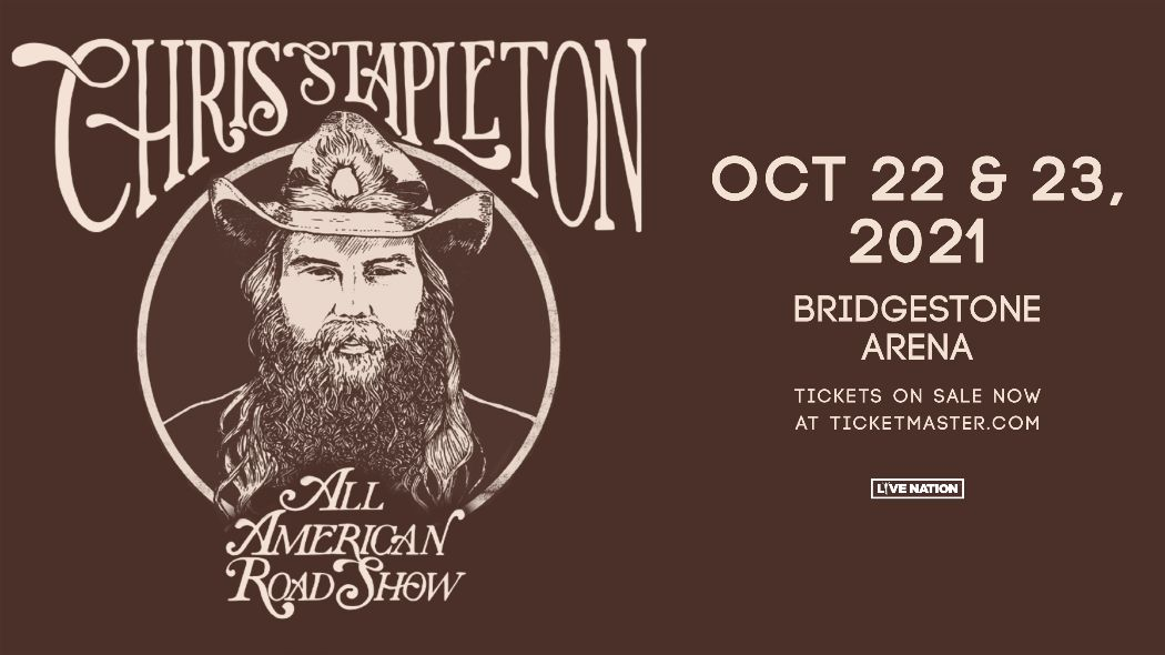 RESCHEDULED: Chris Stapleton