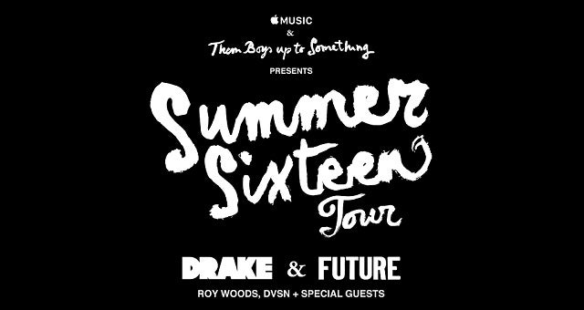 DRAKE SUMMER SIXTEEN TOUR WITH FUTURE AND SPECIAL GUESTS