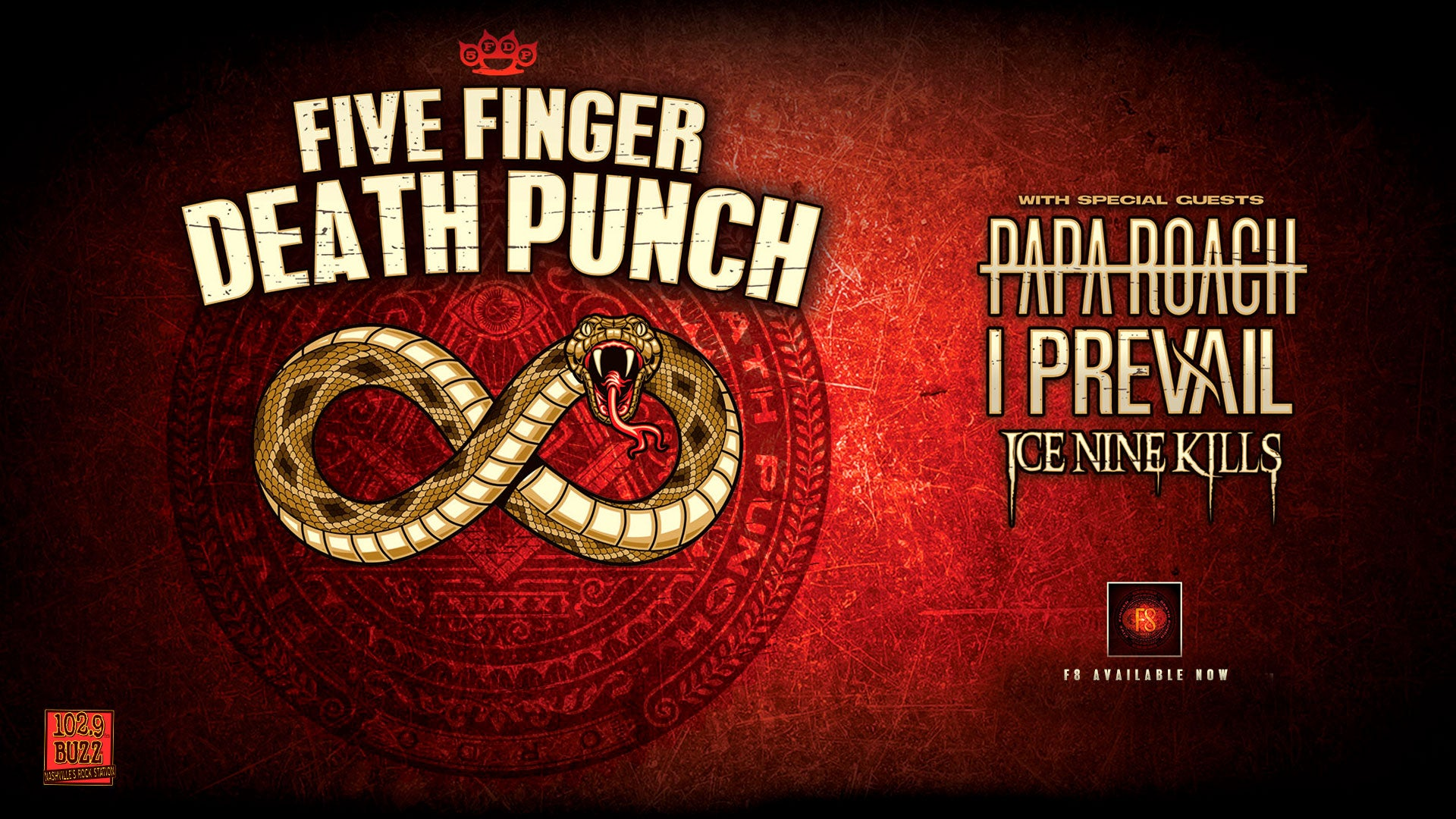 More Info for CANCELED: Five Finger Death Punch