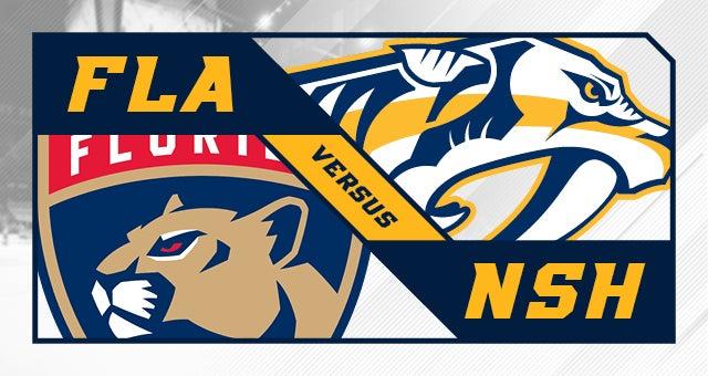 Nashville Predators vs. Florida Panthers