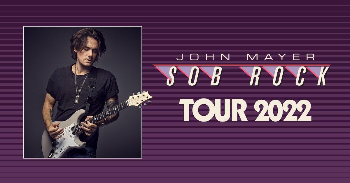 More Info for John Mayer: Sob Rock Tour 2022