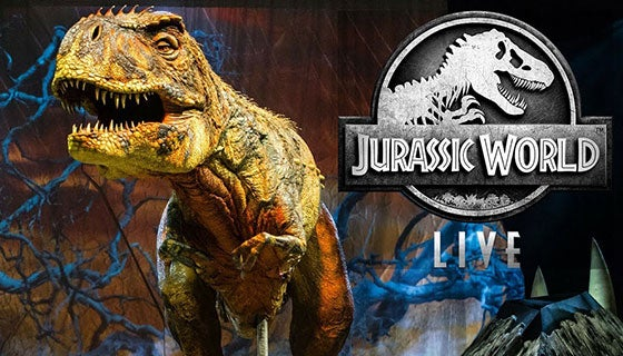 More Info for Jurassic World Live Tour