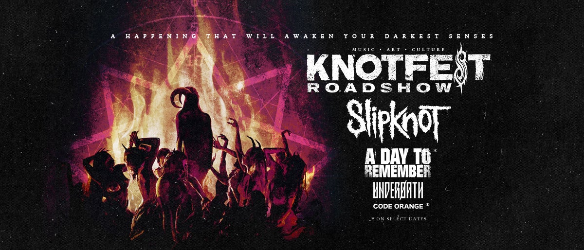 More Info for CANCELED: Slipknot