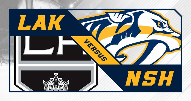 More Info for Nashville Predators vs. Los Angeles Kings