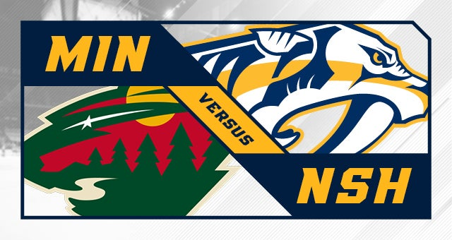 More Info for Nashville Predators vs. Minnesota Wild