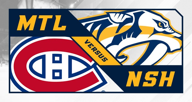 More Info for Nashville Predators vs. Montreal Canadiens