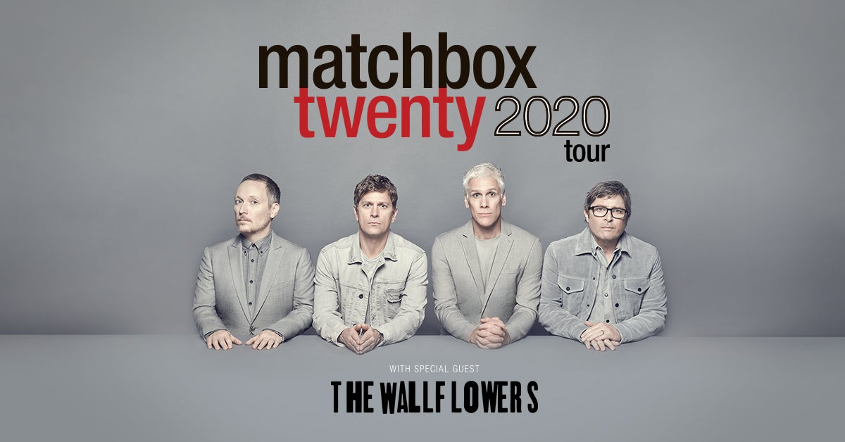 RESCHEDULED: Matchbox Twenty