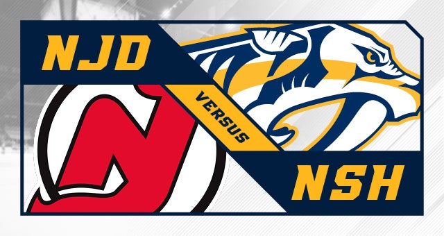 More Info for Nashville Predators vs. New Jersey Devils