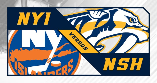 More Info for Nashville Predators vs. New York Islanders