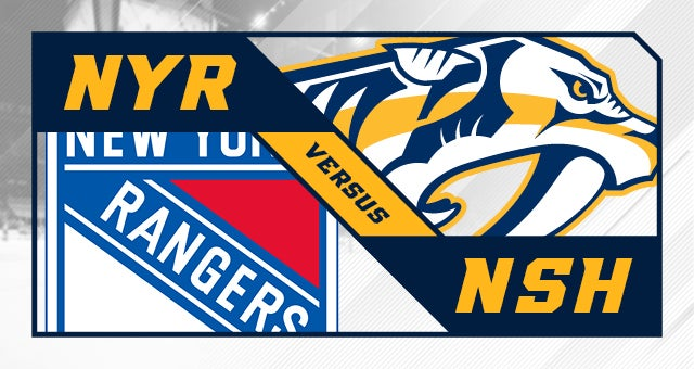 More Info for Nashville Predators vs. New York Rangers