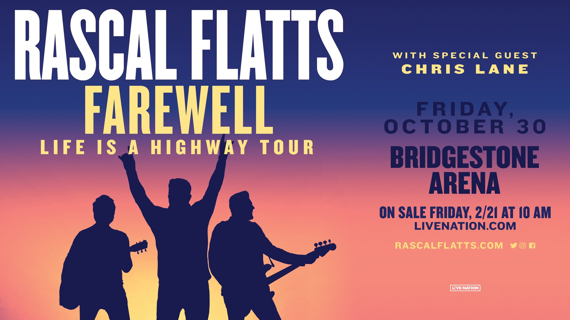 More Info for CANCELED: Rascal Flatts