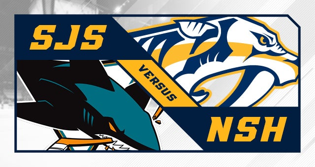 More Info for Nashville Predators vs. San Jose Sharks