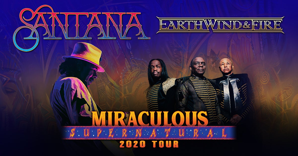 More Info for POSTPONED: Santana and Earth, Wind & Fire