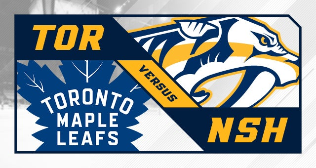 More Info for Nashville Predators vs. Toronto Maple Leafs
