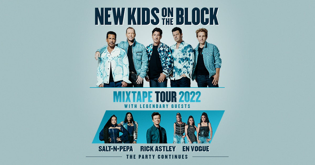 More Info for New Kids On The Block: Mixtape Tour 2022