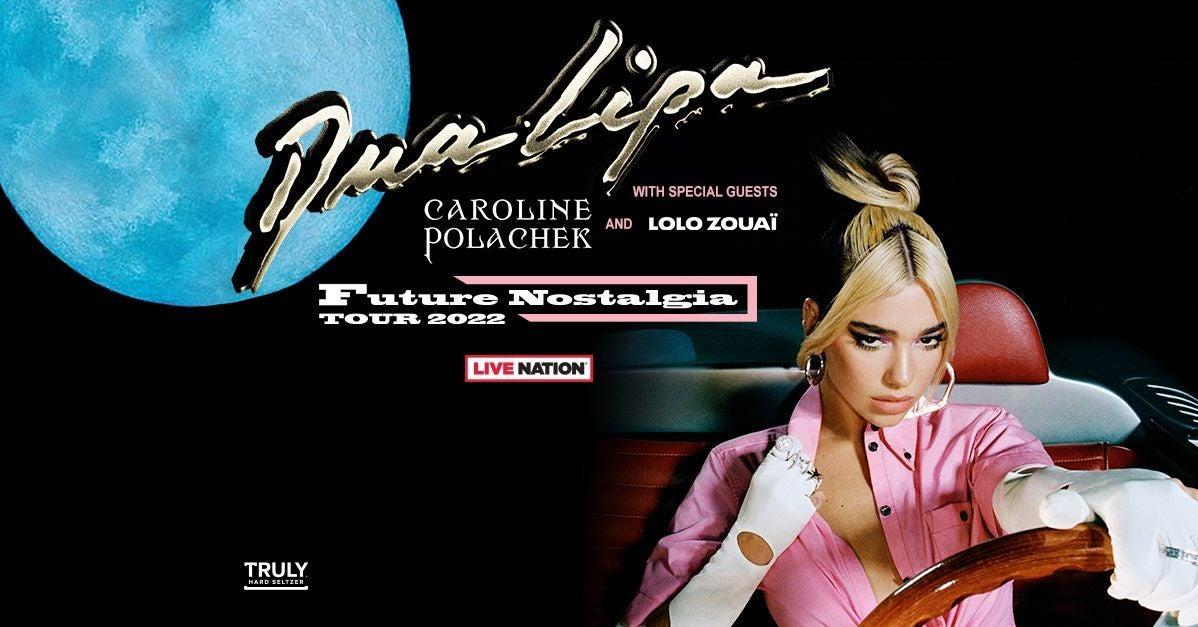 More Info for Dua Lipa - Future Nostalgia Tour