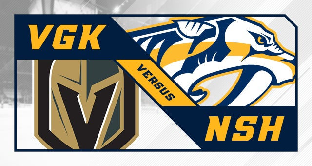 More Info for Nashville Predators vs. Vegas Golden Knights