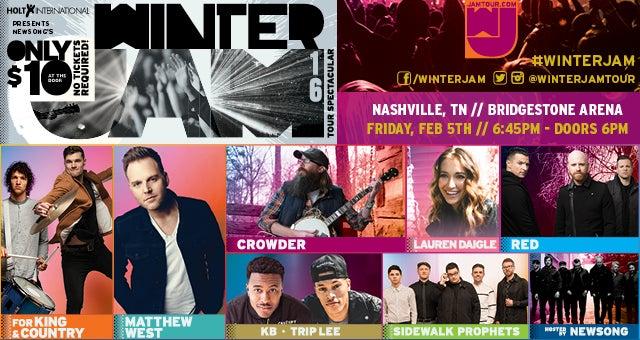 Winter Jam Tour Schedule