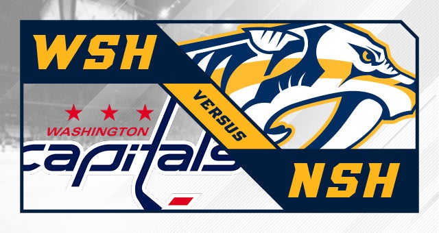More Info for Nashville Predators vs. Washington Capitals