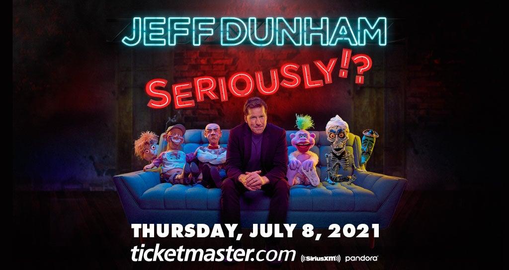 RESCHEDULED: Jeff Dunham