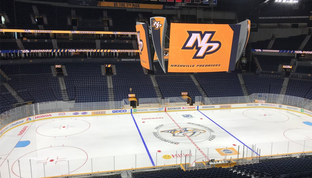 More Info for BRIDGESTONE ARENA UNDERGOES OFFSEASON RENOVATIONS IN PREPARATION OF 'YEAR OF THE FAN'