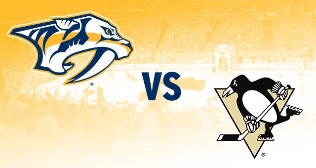 Nashville Predators Vs Pittsburgh Penguins Bridgestone