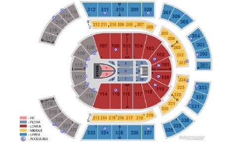 Taylor Swift Bridgestone Arena